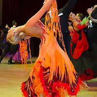 Daniele Scalise & Alla Andryushchenko from Italy perform their dance during the Blakcpool Dance Festival that is the most famous event among dance competitions held in Empress Ballroom Winter Gardens, Blackpool, United Kingdom. Sunday, 30. May 2010. ATTILA VOLGYI