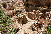 Excavations at the City of David Jerusalem, Israel