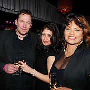 NLD/Uitgeest/20100118 - Uitreiking Geels Populariteits Awards van NH 2009, Donna Lynton met dochter en zakenpartner