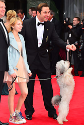 Ashleigh Butler, David Walliams and Pudsey during the Arqiva British Academy Television Awards.  Star-studded ceremony celebrating the best of British television, Royal Festival Hall,  London, UK, May 12, 2013. Photo by: Nils Jorgensen /  i-Images