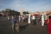 Place Jema al-Fna, Marrakech, Morocco, north Africa