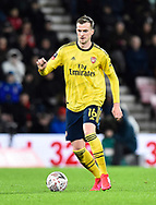 Rob Holding (16) of Arsenal during the The FA Cup match between Bournemouth and Arsenal at the Vitality Stadium, Bournemouth, England on 27 January 2020.