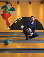 Robert Grimmettat Ten Pin Alley for the Columbus Monthly singles issue. (Will Shilling/Columbus Monthly)