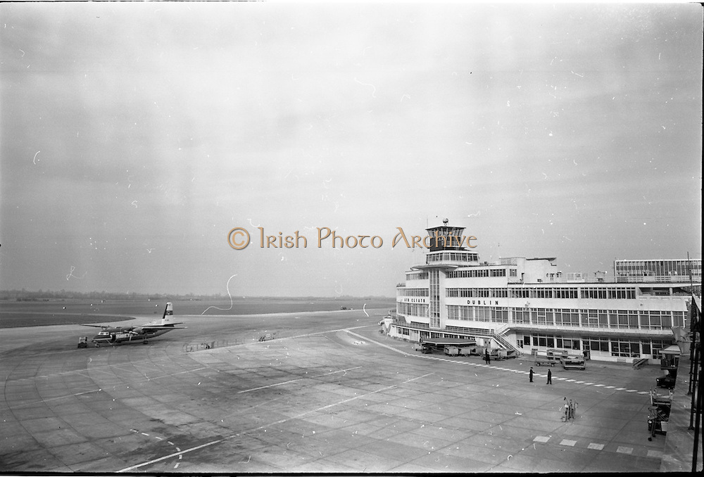 20/02/1963.02/20/1963.20 February 1963.Views of Dublin Airport Buildings. Special for Aer Lingus.