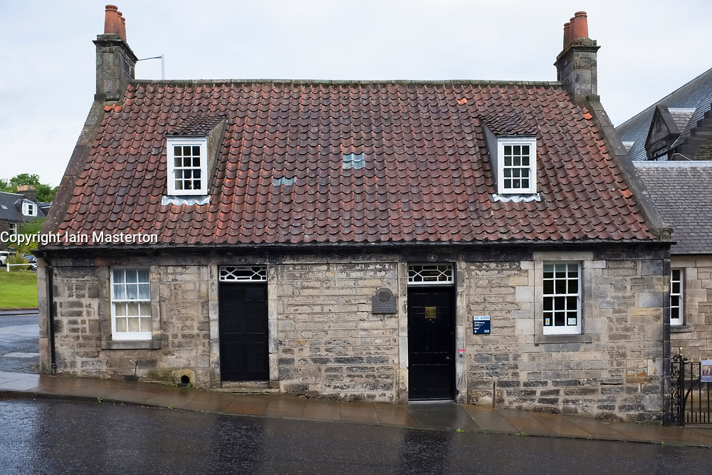Andrew Carnegie Birthplace Museum in Dunfermline, Fife, Scotland
