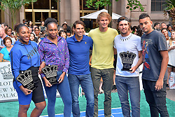 August 23, 2018 - New York, NY, USA - August 23, 2018  New York City..Serena Williams, Venus Williams, Rafael Nadal, Alexander Zverev, Mischa Zverev and Nick Kyrgios attending the 4th Annual Palace Invitational at the Lotte Palace Hotel on August 23, 2018 in New York City. (Credit Image: © Kristin Callahan/Ace Pictures via ZUMA Press)