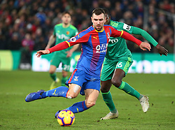 January 12, 2019 - London, England, United Kingdom - London, England - 12 January, 2019.Crystal Palace's James McArthur.during English Premier League between Crystal Palace and Watford at Selhurst Park stadium , London, England on 12 Jan 2019. (Credit Image: © Action Foto Sport/NurPhoto via ZUMA Press)