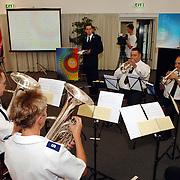 NLD/Almere/20070607 - Leger des heils presentatie nieuw liederenboek optreden brass ensemble Spoordreef 10 Almere