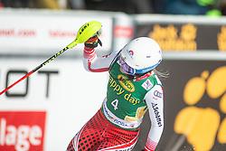 Katharina Truppe (AUT) during second run at the Ladies' Slalom at 56th Golden Fox event at Audi FIS Ski World Cup 2019/20, on February 16, 2020 in Podkoren, Kranjska Gora, Slovenia. Photo by Matic Ritonja / Sportida