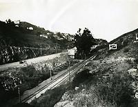 1928 Looking south at Cahuenga Pass