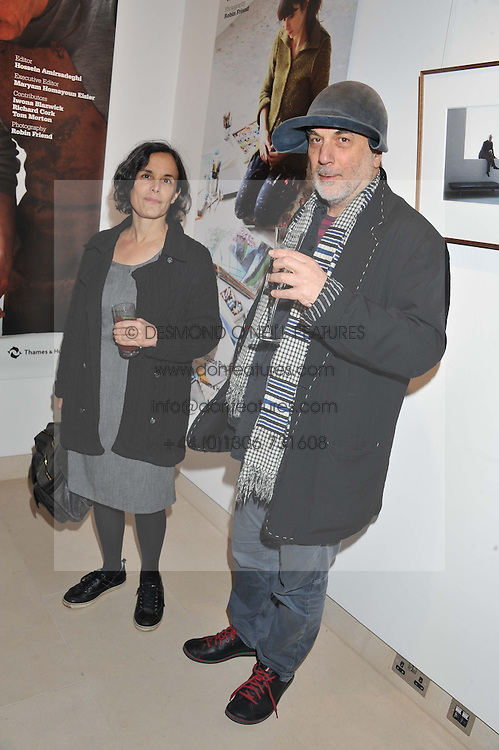RON & ALMA ARAD at the launch Sanctuary, Britains Artists and their Studios held at Christies, 8 King Street, St.James's, London on 13th March 2012.