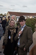 HANNAH HISCOCK; JAMIE HEPBURN, Side-Saddle Dash, Southern Spinal Injuries Trust charity Day. Wincanotn. 25 October 2015.