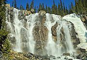 Tangle Falls <br /> Jasper  National Park<br /> Alberta<br /> Canada
