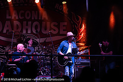 Main stage at the Laconia Roadhouse during Laconia Motorcycle Week. NH, USA. Friday, June 15, 2018. Photography ©2018 Michael Lichter.