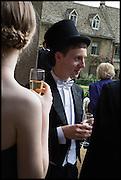 JULIA KLEINENBERG; TOM PROCTOR, The Tercentenary Ball, Worcester College. Oxford. 27 June 2014