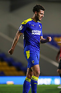 AFC Wimbledon defender Nesta Guinness-Walker (18) walking off pitch during the EFL Sky Bet League 1 match between AFC Wimbledon and Gillingham at Plough Lane, London, United Kingdom on 23 February 2021.