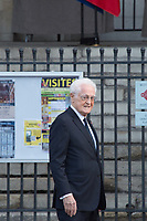 Lionel Jospin Obsèques de Jacques Chirac Lundi 30 Septembre 2019 église Saint Sulpice Paris