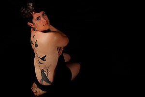 Sarah, Tattoo + You, A Photo Story of Body Ink