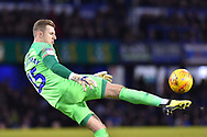 Craig MacGillivray (15) of Portsmouth during the EFL Sky Bet League 1 match between Portsmouth and AFC Wimbledon at Fratton Park, Portsmouth, England on 1 January 2019.