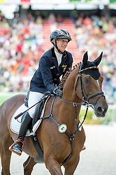 Sandra Auffarth, (GER), Opgun Louvo - Jumping Eventing - Alltech FEI World Equestrian Games™ 2014 - Normandy, France.<br /> © Hippo Foto Team - Jon Stroud<br /> 31-08-14