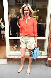 CAROLINE HABIB at Papillon Shoes Enchanted Tea Party Store Launch 98 Marylebone Lane, London W1 on 25th May 2010.