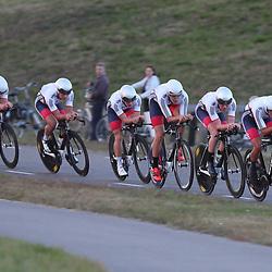 27-09-2016: Wielrennen: Olympia Tour: Hardenberg<br />HARDENBERG (NED) wielrennen<br />Nederlands oudste wielerkoers ging van start in Hardenberg met een ploegentijdrit.Team Great Britain