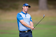 Padraig Harrington of Ireland in action during the British Masters 2018 at Walton Heath Golf Course, Walton On the Hill, Surrey on 12 October 2018. Picture by Martin Cole.