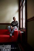 Flurin Jecker, Schriftsteller und Journalist. © Adrian Moser