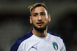October 6, 2017 - Turin, Italy - Gianluigi Donnarumma of Italy national team looks on during the 2018 FIFA World Cup Russia qualifier Group G football match between Italy and FYR Macedonia at Stadio Olimpico on October 6, 2017 in Turin, Italy. (Credit Image: © Mike Kireev/NurPhoto via ZUMA Press)