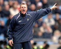 Photo: Glyn Thomas.<br />Manchester City v Middlesbrough. The Barclays Premiership. 02/04/2006.<br /> Man City's manager Stuart Pearce.