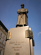 Józef Piłsudski, a military leader, Marshal of Poland and one of the main figures responsible for Poland's regaining its independence, Warsaw, Poland