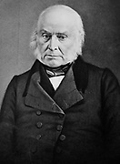 Portrait of John Quincy Adams between 1855 and 1865. John Quincy Adams 1767 – 1848) was the sixth President of the United States (1825–1829)