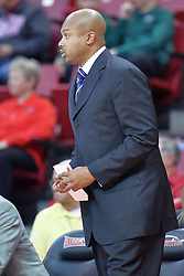 22 December 2013: Torrey Ward  during an NCAA  mens basketball game between the Blue Demons of DePaul falling to  the Illinois State Redbirds 69-64 in Redbird Arena, Normal IL