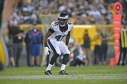 Randall Evans #41 of the Philadelphia Eagles against the Green Bay Packers at Lambeau Field on August 29, 2015 in Green Bay, Pennsylvania. The Eagles won 39-26. (Photo by Drew Hallowell/Philadelphia Eagles)