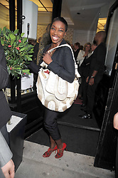 Singer ESTELLE at a party to launch the new Belvedere Black Raspberry Maceration held at the Belvedere Black Raspberry Pop-up Store, 100 Mount Street, London W1 on 6th May 2009.