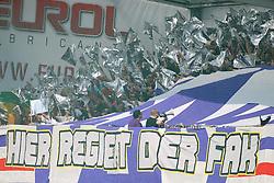 24.04.2011, Keine Sorgen Arena, Ried im Innkreis, AUT, 1.FBL, SV Josko Ried vs FK Austria Wien, im Bild Fans von Austria Wien, EXPA Pictures © 2011, PhotoCredit: EXPA/ R. Hackl