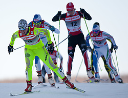 05.01.2011, Nordic Arena, Toblach, ITA, FIS Cross Country, Tour de Ski, Qualifikation Sprint Women and Men, im Bild Vesna Fabjan (SLO, #50) quaterfinal. EXPA Pictures © 2011, PhotoCredit: EXPA/ J. Groder