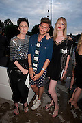 ERIN O'CONNOR; HENRY HOLLAND; JADE PARFITT, Alexandra Shulman, Editor of Vogue & Phil Popham, Managing Director of Land Rover<br /> host the 40th Anniversary of Range Rover. The Orangery at Kensington Palace. London. 1 July 2010. -DO NOT ARCHIVE-© Copyright Photograph by Dafydd Jones. 248 Clapham Rd. London SW9 0PZ. Tel 0207 820 0771. www.dafjones.com.