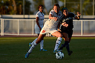 31 OCT 2012: University of Nevada vs. Boise State University during the Mountain West Conference Women's Soccer Championship held at the San Diego State University Sports Deck in San Diego, CA. Nevada defeated Fresno State 1-0 to advance. Brett Wilhelm/NCAA Photos