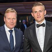 NLD/Hilversum/20180903 - Ronald Koeman en Matthijs de Ligt