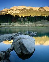 Green River Lake Wind River range Wyoming USA
