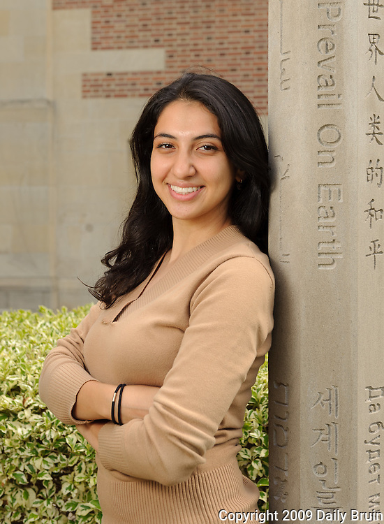 Homaira Hosseini, former Undergraduate Associate Student Council president, will speak at the 2009 College of Letters & Sciences commencement.