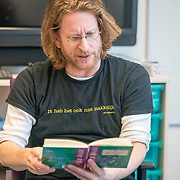 NLD/Amsterdam/201901213 - BN'ers bij het Nationale Voorleesontbijt 2019, Jim de Groot leest voor