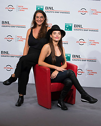 ITALY OUT - Barbara Sarasola-Day and Eva De Dominici attend the ' Sangre Blanca ' photocall during the 13th Rome Film Fest at Auditorium Parco Della Musica on October 19, 2018 in Rome, Italy. Photo by Alessia Paradisi/ABACAPRESS.COM