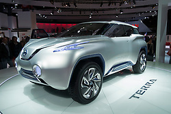 Nissan Terra hydrogen fuel-cell powered concept car at Paris Motor Show 2012