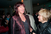 JANET STREET-PORTER; BRIX SMITH-START , Counter Editions 10th anniversary party. Rivington Grill. Shoreditch. London. 5 May 2010 *** Local Caption *** -DO NOT ARCHIVE-© Copyright Photograph by Dafydd Jones. 248 Clapham Rd. London SW9 0PZ. Tel 0207 820 0771. www.dafjones.com.<br /> JANET STREET-PORTER; BRIX SMITH-START , Counter Editions 10th anniversary party. Rivington Grill. Shoreditch. London. 5 May 2010
