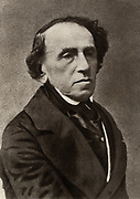 Giacomo Meyerbeer (1791-1864) (Jakob Liebmann Beer) German composer who settled in Paris and established himself as a foremost composer of Frrench grand opera. From a photograph by Nadar, pseudonym of Gaspard-Felix Tournachon (1820-1910).