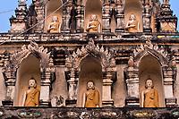 Wat Ku Kam (Buddhist temple), Wiang Kum Kam, near Chiang Mai, Northern Thailand