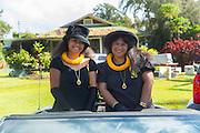 Queen Ka'ahumanu Society, North Kohala Kamehameha Day Celebration, Hawi, Island of Hawaii