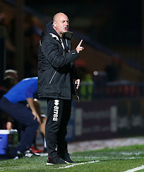 Rochdale Manager, Keith Hill gestures to his players - Mandatory byline: Matt McNulty/JMP - 07966386802 - 29/09/2015 - FOOTBALL - Spotland Stadium -Rochdale,England - Rochdale v Shrewsbury - SkyBet League One